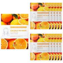 Load image into Gallery viewer, Coconut Bio Mask with Orange