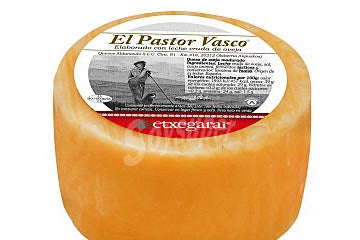 Queso Pastor Vasco Natural - 1 Kg.