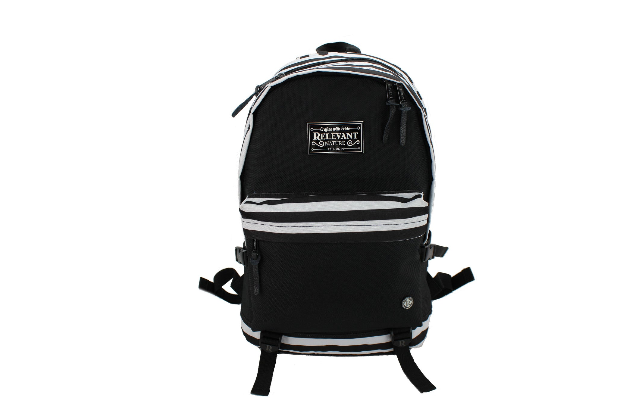 Bronx Striped Backpack - Relevant Nature