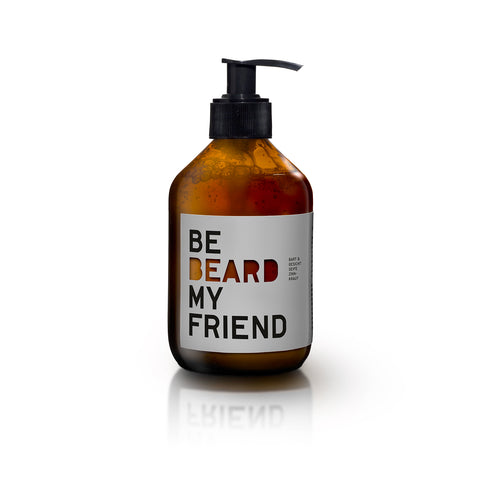 BE [BEARD] MY FRIEND - Bart- & Rasier-Seife