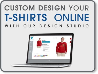 Online t-shirt design studio free to use