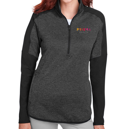 UA Ladies Qualifier Hybrid Corporate Quarter-Zip