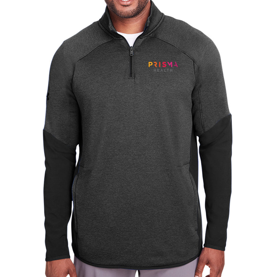 UA Mens Qualifier Hybrid Corporate Quarter-Zip