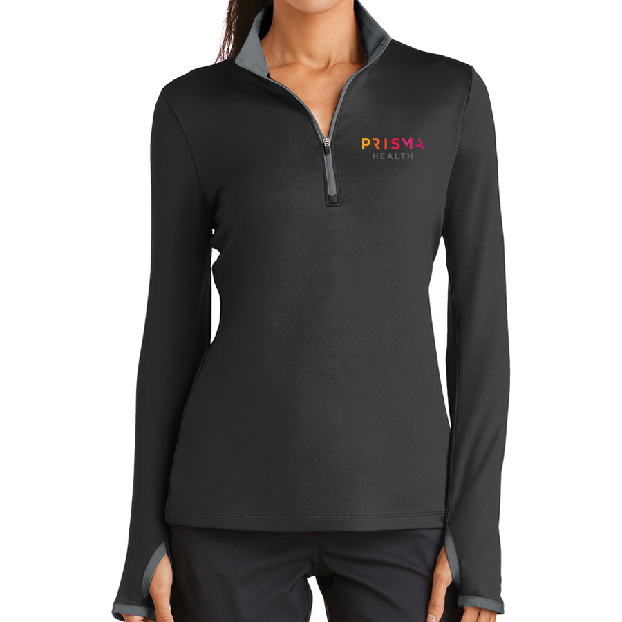 Nike Ladies Dri-Fit Stretch 1/2 Zip Cover Up