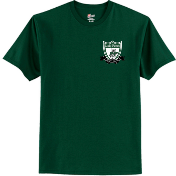 DF Crest cotton tee | Forest