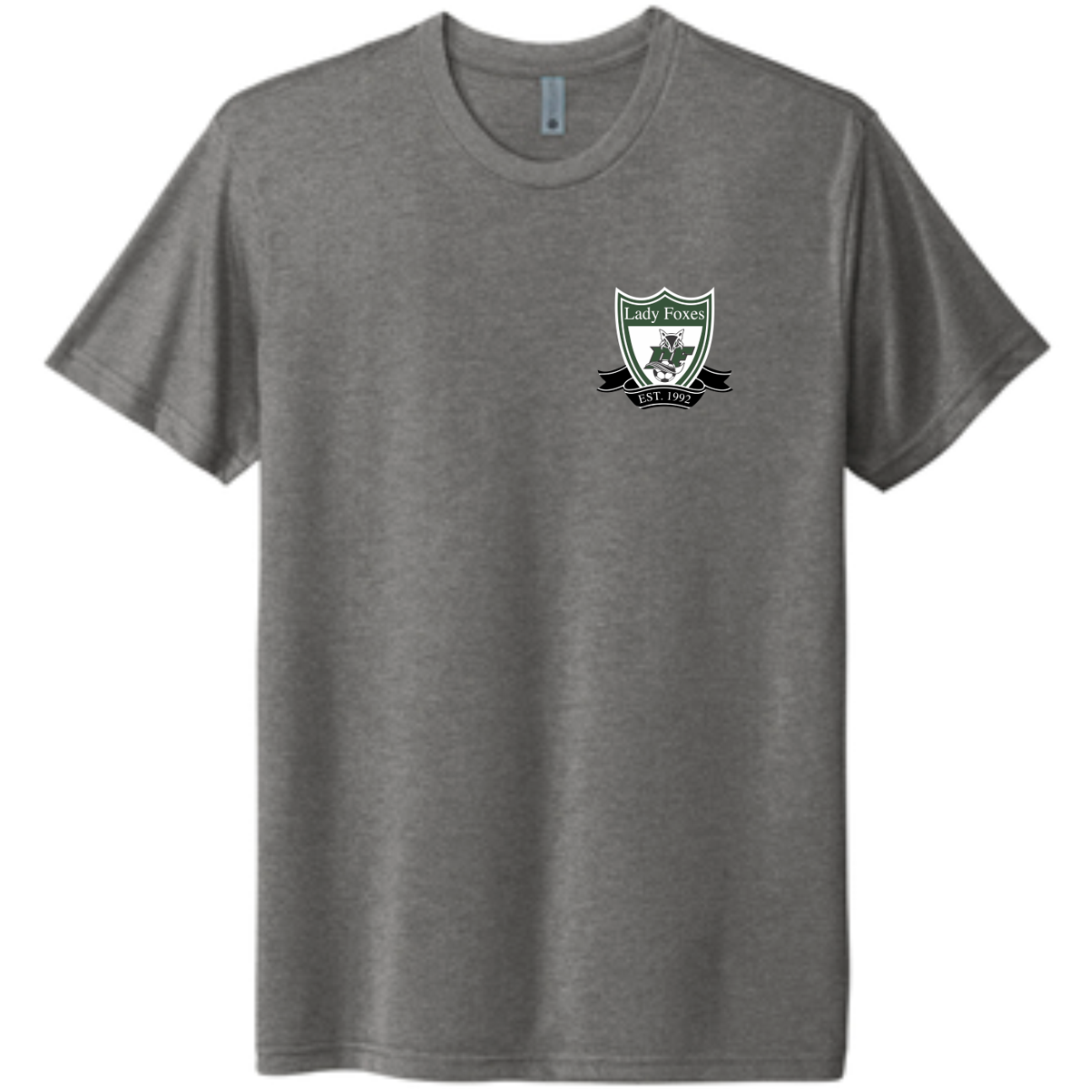 DF Crest triblend tee | Heather grey