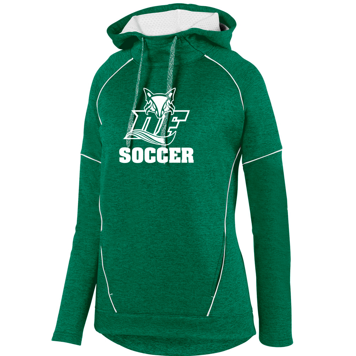 DF Fox LADIES Performance Hoodie | Green