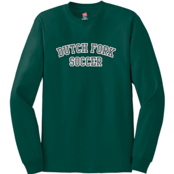DF Soccer LS cotton tee | Forest