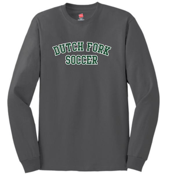 DF Soccer LS cotton tee | Smoke