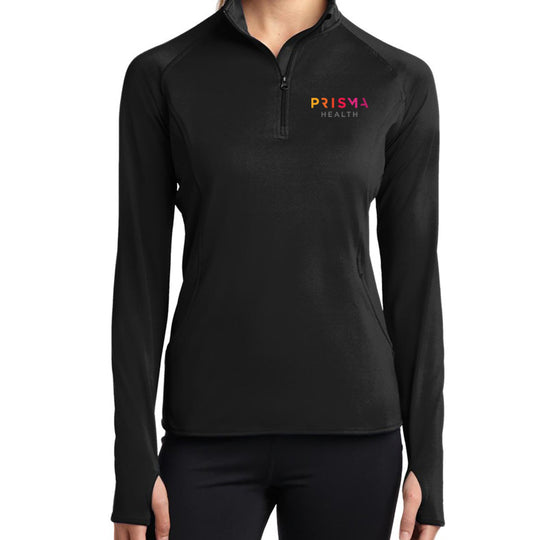 Sport-Tek Ladies Sport-Wick Stretch ½ Zip Pullover