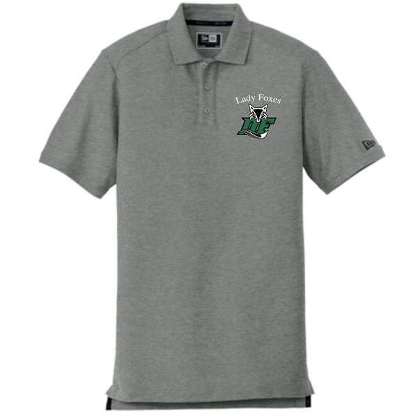 MENS New Era® Venue Home Plate Polo | Grey