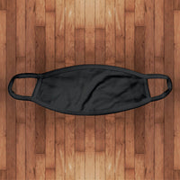 Cotton Face Cover- black
