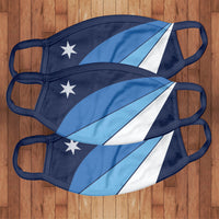 3 Pack: Cotton Face Cover-Columbia, SC Flag