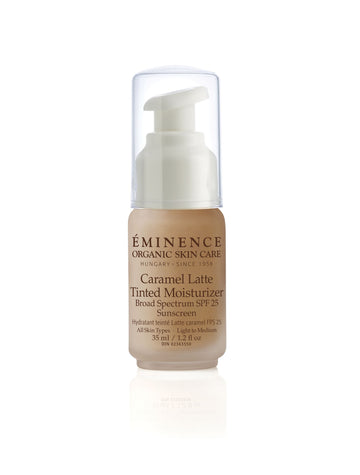 Eminence Organics Caramel Latte Tinted Moisturizer SPF 25 (light to medium)