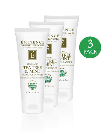 Tea Tree & Mint Hand Cleanser - 3 Pack