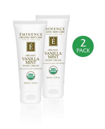 Vanilla Mint Hand Cream - 2 Pack