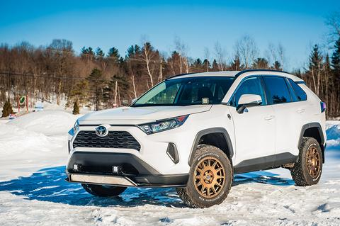 Lift Kit 1,5'' RAV4 2019 Powder Coated