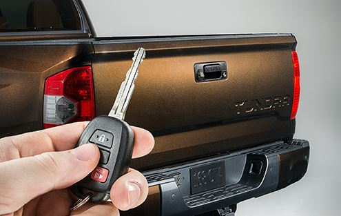 Power Tailgate Lock