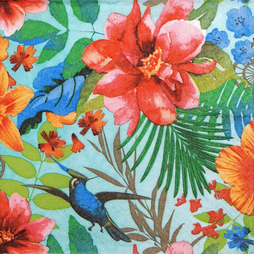 Dinner Napkins - Tropical Paradise - Derbyshire Gift Centre