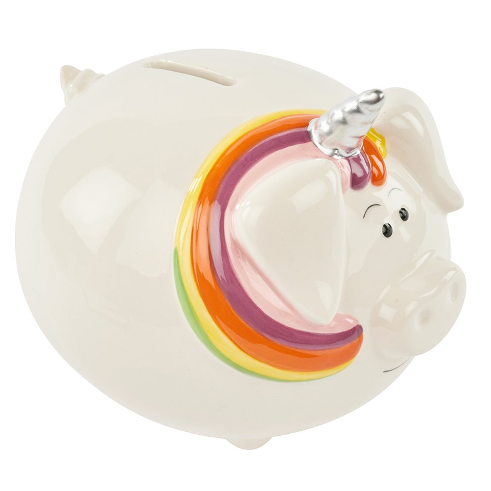 Unipig Ceramic Money Bank - Derbyshire Gift Centre