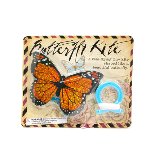 House of Marbles Mini Butterfly Kite - Orange - Derbyshire Gift Centre