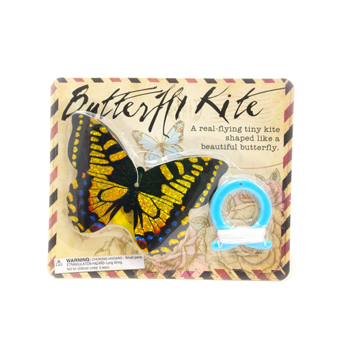 House of Marbles Mini Butterfly Kite - Yellow - Derbyshire Gift Centre