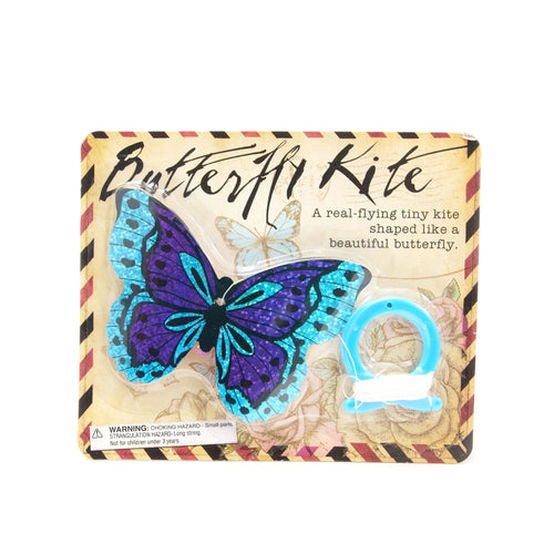 House of Marbles Mini Butterfly Kite - Blue & Purple - Derbyshire Gift Centre
