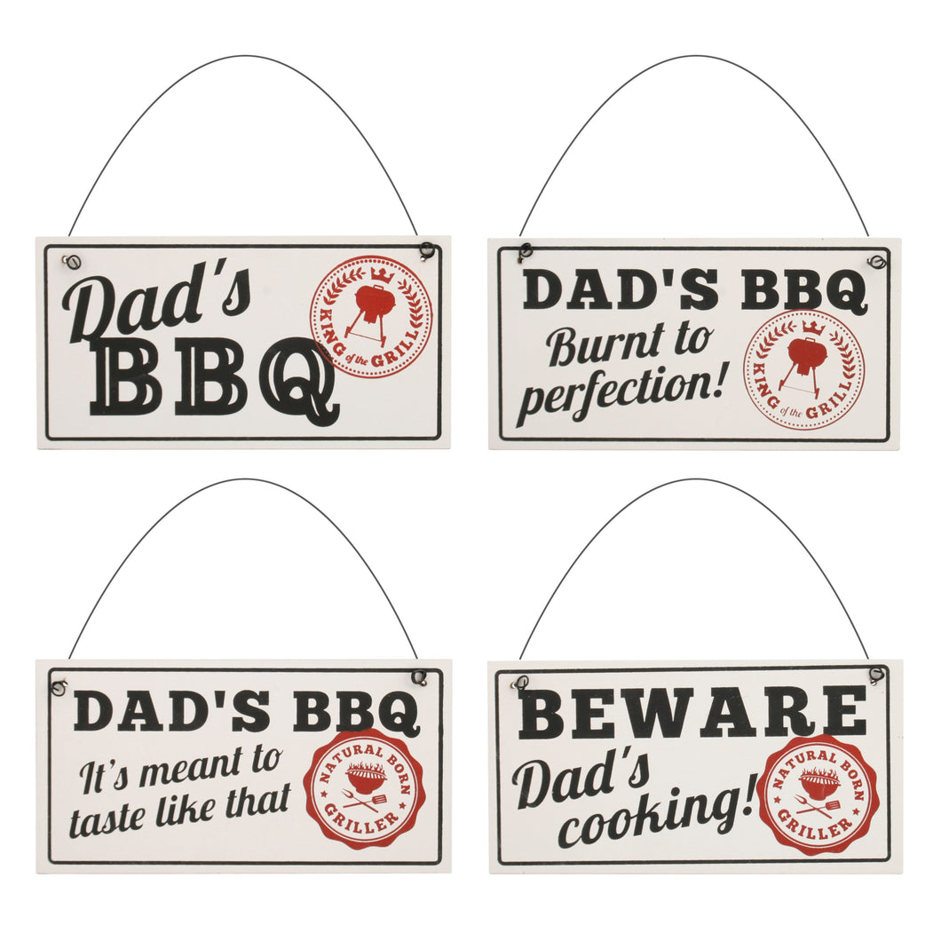 Funny Dad Cooking Wooden Signs - Various Styles - Derbyshire Gift Centre
