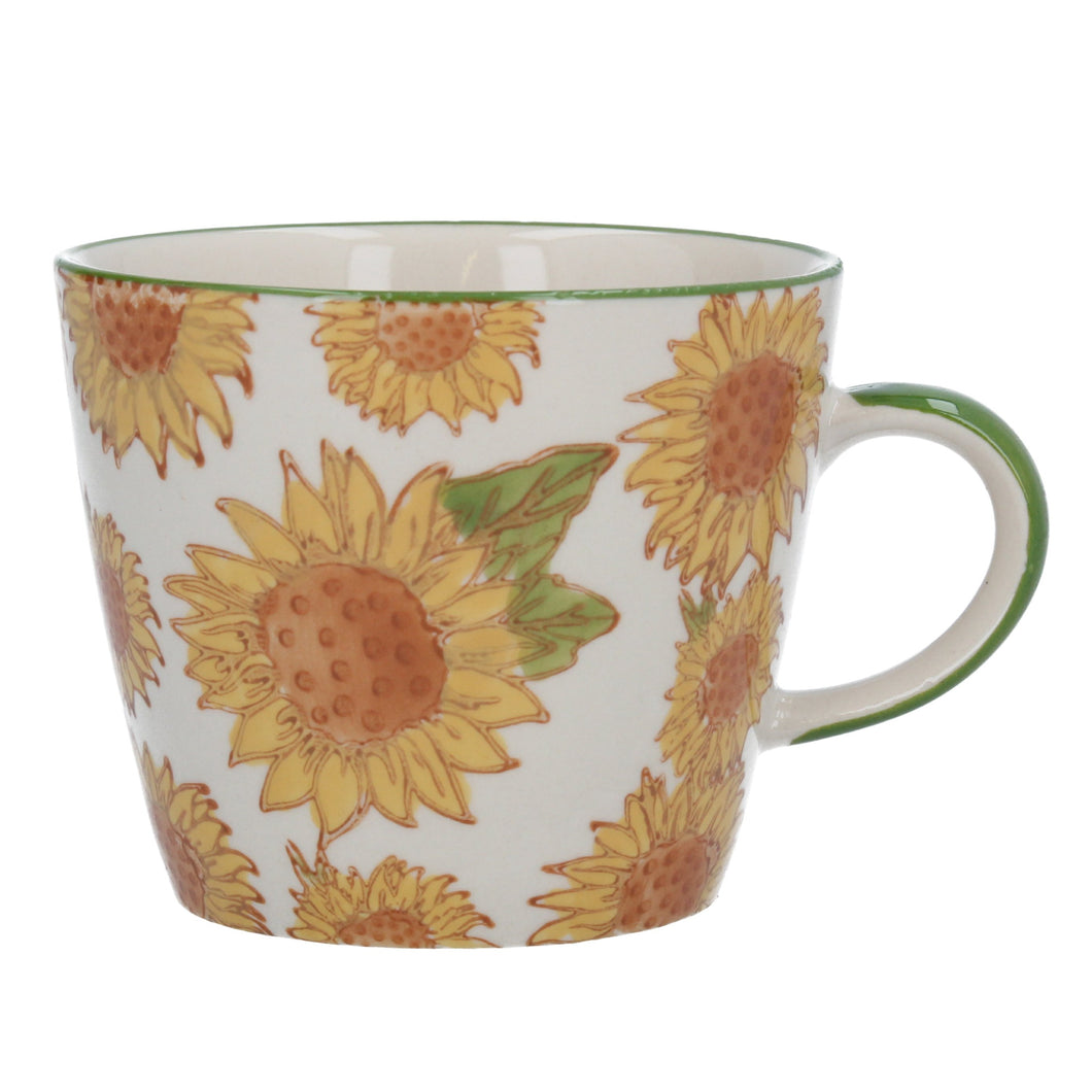 Gisela Graham Sunflower Stoneware Mug
