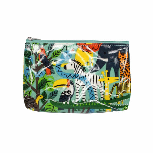 Gisela Graham Zoo Animal Pencil Bag - Derbyshire Gift Centre
