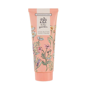 Heathcote & Ivory 'In the Garden' - Shea Butter Hand Cream - Derbyshire Gift Centre