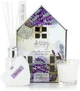 Ashleigh & Burwood Country Lavender Home Gift Set - Derbyshire Gift Centre