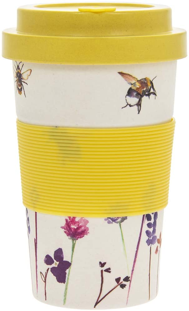 Busy Bee Bamboo Travel Mug - Derbyshire Gift Centre