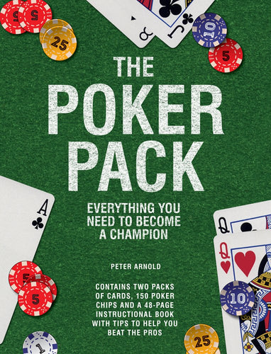The Poker Pack - Everything You Need To Become A Champion - Derbyshire Gift Centre