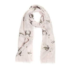At Home In The Country Hares Scarf