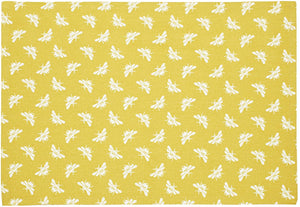 Ochre Bee Tea Towels - Set of 2 - Derbyshire Gift Centre