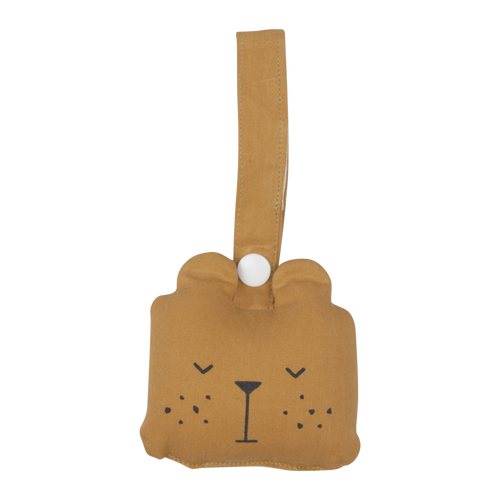 Fabelab Animal Rattle - Bear - Derbyshire Gift Centre