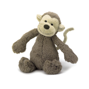 Jellycat Bashful Monkey - Derbyshire Gift Centre