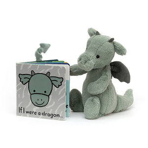 Jellycat Book - If I Were A Dragon - Derbyshire Gift Centre