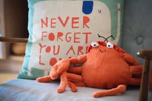 Jellycat Crispin the Crab - Various Sizes - Derbyshire Gift Centre
