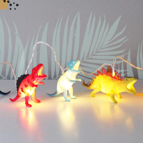 Dinosaur String Lights - Derbyshire Gift Centre