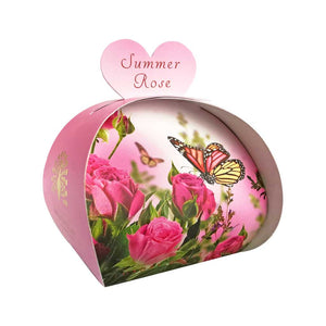 English Soap Company Summer Rose Guest Soaps - Derbyshire Gift Centre