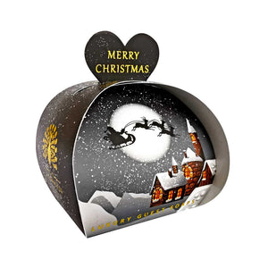 Merry Christmas Luxury Guest Soap - Winter Village
