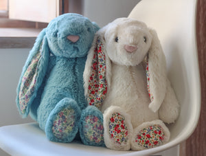 Jellycat Blossom Bunny Cream - Various Sizes