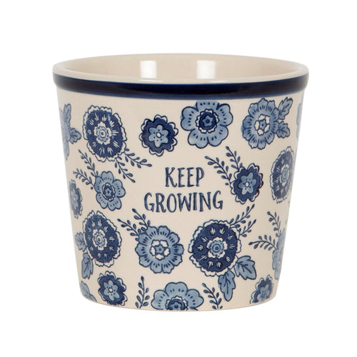 Sass & Belle 'Keep Growing' Planter - Derbyshire Gift Centre