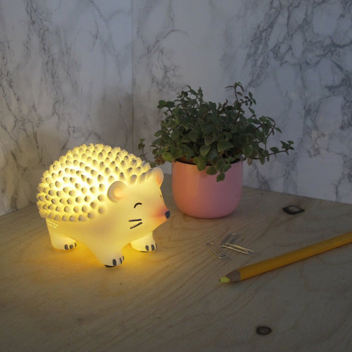 Over the Moon Hedgehog Mini LED Light - Derbyshire Gift Centre