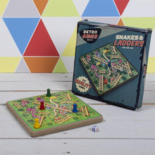 Load image into Gallery viewer, Retro Games - Snakes & Ladders