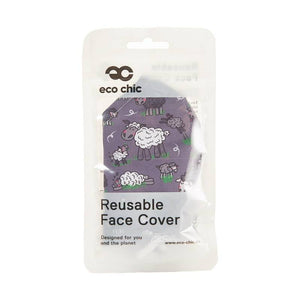 Eco Chic Reusable Face Mask - Sheep - Derbyshire Gift Centre