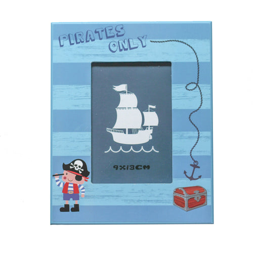 'Pirates Only' Picture Frame - Derbyshire Gift Centre
