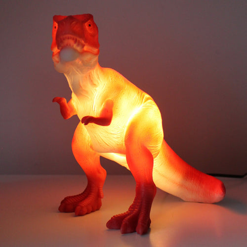 Red T-Rex Lamp - Derbyshire Gift Centre